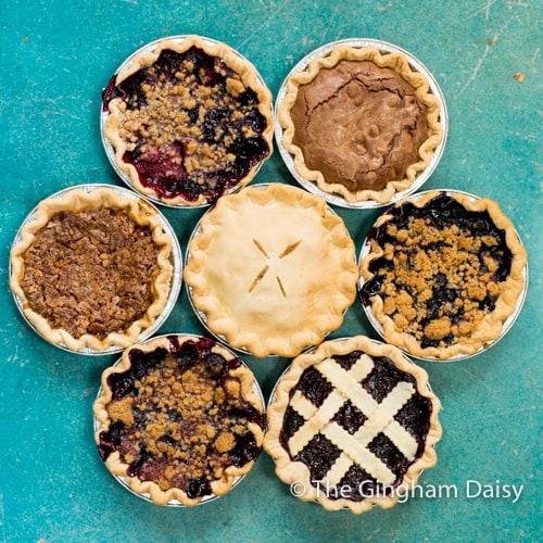 small pie assortment